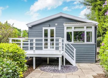Thumbnail 2 bed mobile/park home for sale in Southampton Road, Lyndhurst