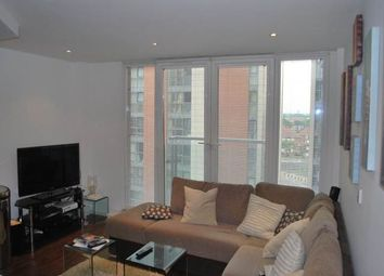 Thumbnail 1 bed flat to rent in The Oxygen, 18 Western Gateway, Royal Victoria, London