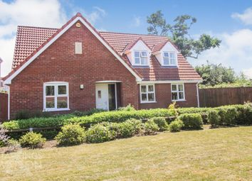 Thumbnail 4 bed property for sale in Lark Drive, Attleborough