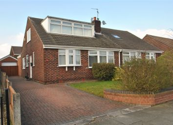 Thumbnail 3 bed semi-detached bungalow for sale in Gainsborough Road, Warrington