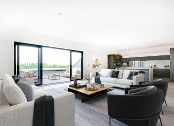 Thumbnail 2 bed flat for sale in Boat Race House, 63 Mortlake High Street, London