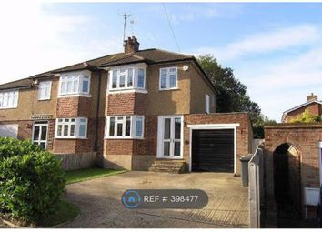 Thumbnail 4 bed semi-detached house to rent in Garratts Road, Bushey