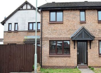 Thumbnail 2 bedroom semi-detached house to rent in Ploudal Road, Cullompton, Devon