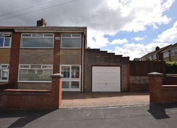 Thumbnail 3 bed semi-detached house for sale in Thornham Avenue, Marshalls Cross, St. Helens