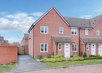 Thumbnail 3 bed end terrace house for sale in Hurricane Avenue, Cofton Hackett, Birmingham