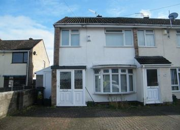 Thumbnail 4 bed end terrace house for sale in Stratford Close, Whitchurch, Bristol