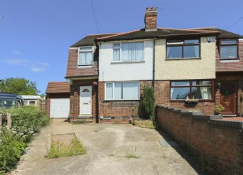 Thumbnail 3 bed semi-detached house for sale in Brooklands Crescent, Gedling, Nottinghamshire