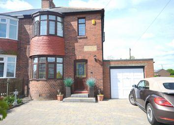 Thumbnail 3 bed semi-detached house for sale in Holmesland Villas, Sacriston, Durham