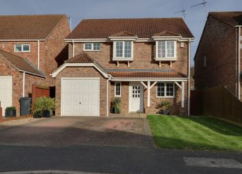Thumbnail 4 bed detached house for sale in Oatfield Way, Heckington, Sleaford