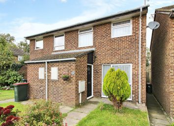 Thumbnail 3 bed semi-detached house for sale in The Covey, Worth, Crawley, West Sussex