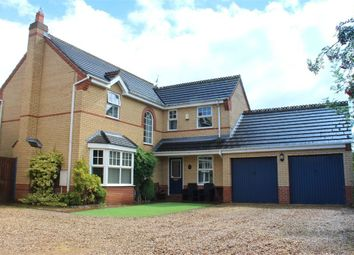 Thumbnail 4 bed detached house for sale in Belvoir Close, Market Deeping