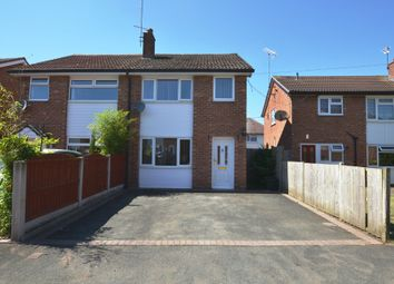 Thumbnail 3 bed semi-detached house for sale in Red Bank Road, Market Drayton