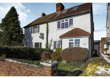 Thumbnail 3 bed semi-detached house for sale in Downs Road, Burgess Hill