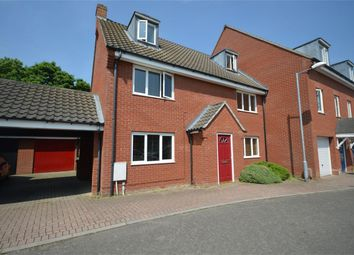 Thumbnail 5 bed semi-detached house for sale in Campion Way, Hethersett, Norwich, Norfolk