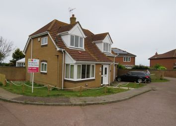 Thumbnail 3 bed detached house for sale in Tasman Drive, Mundesley, Norwich