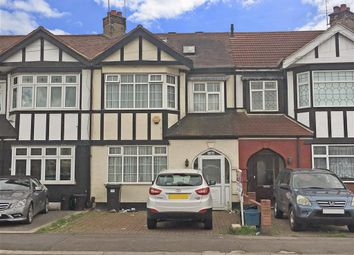 Thumbnail 4 bedroom terraced house for sale in Longwood Gardens, Ilford, Essex