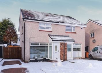 Thumbnail 2 bed semi-detached house for sale in Falkland Crescent, Bishopbriggs, Glasgow