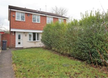 Thumbnail 2 bed semi-detached house for sale in Poplar Close, Winsford