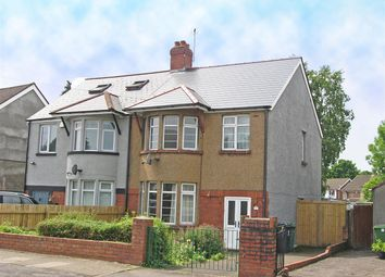 Thumbnail 3 bed semi-detached house for sale in Fairwood Road, Cardiff