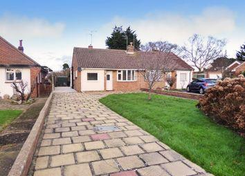 Thumbnail 3 bed semi-detached bungalow for sale in Mill Close, Rustington, Littlehampton