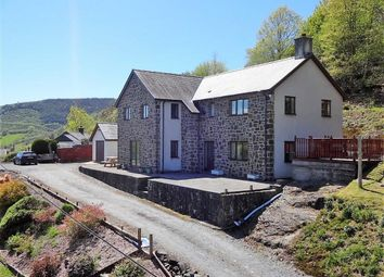 Thumbnail 4 bed detached house for sale in Rhiangell, Aberangell, Machynlleth, Powys