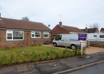 Thumbnail 2 bed detached bungalow for sale in Saxon Way, King's Lynn