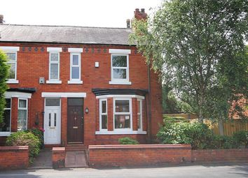 Thumbnail 3 bed end terrace house to rent in Knutsford Road, Grappenhall, Warrington
