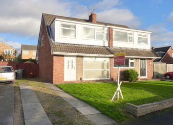 Thumbnail 3 bed semi-detached house to rent in Somerville Close, Bromborough, Wirral