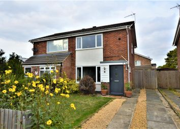 Thumbnail 2 bed semi-detached house for sale in Caithness Road, Stamford