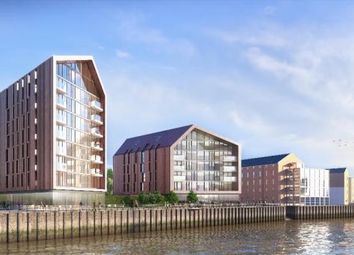 Thumbnail 1 bed flat for sale in Smith's Dock, North Shields