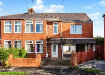 Thumbnail 4 bed semi-detached house for sale in Lang Avenue, York