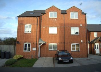 Thumbnail 2 bed flat to rent in Castle Croft, Castle Gresley, Swadlincote