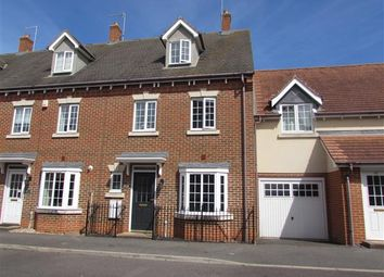 Thumbnail 4 bedroom town house for sale in Offord Close, Grange Farm, Kesgrave, Ipswich