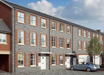 "Thumbnail 4 bedroom terraced house for sale in ""The Maple "" at Mill Lane, Bitton, Bristol"