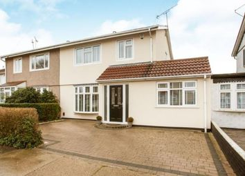 Thumbnail 3 Bed Semi Detached House For Sale In Saunton Road Hornchurch