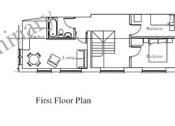 Thumbnail 2 bedroom flat for sale in First Floor Flat, Station Rd, St Clears