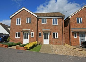 Thumbnail 2 bed semi-detached house for sale in Tithe Barn, Lymington, Hampshire
