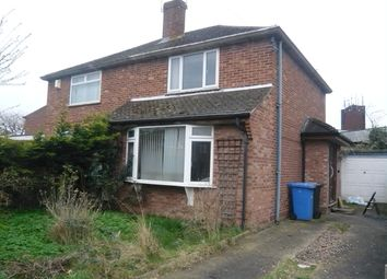 Thumbnail 2 bedroom semi-detached house for sale in Denton Road, Norwich