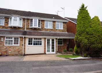 Thumbnail 3 bed semi-detached house for sale in Meadow View, Wokingham