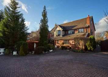 Thumbnail 6 bed detached house for sale in Yew Tree Court, Alsager, Stoke-On-Trent
