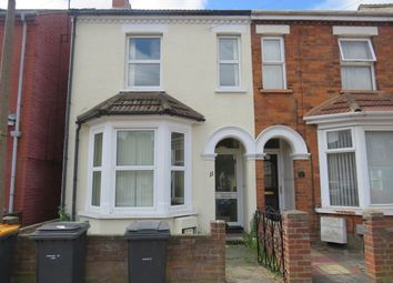 Thumbnail 3 bed terraced house to rent in Sandhurst Road, Bedford
