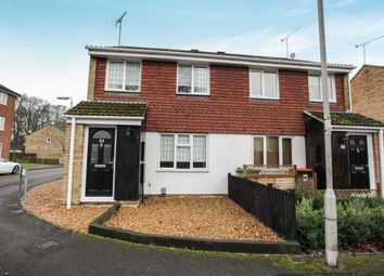 Thumbnail 3 bed semi-detached house for sale in Halleys Way, Houghton Regis, Dunstable