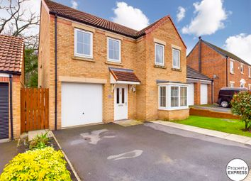 Thumbnail 4 bed detached house for sale in Maddison Grove, Normanby, Middlesbrough