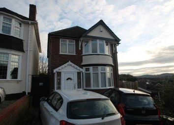 Thumbnail 3 bed detached house to rent in Trejon Road, Cradley Heath, West Midlands
