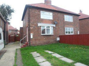 Thumbnail 2 bed semi-detached house to rent in West Crescent, Easington, Peterlee