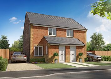 "Thumbnail 2 bed semi-detached house for sale in ""Kerry"" at Sidings Road, Grimsby"