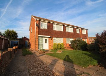 Thumbnail 3 bed semi-detached house to rent in Wansbeck Road, Brickhill, Bedford