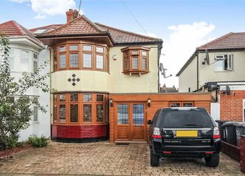 Thumbnail 3 bedroom semi-detached house for sale in Park Avenue North, Dollis Hill, London