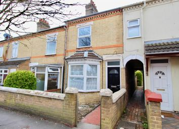 Thumbnail 2 bedroom terraced house to rent in Belsize Avenue, Woodston, Peterborough