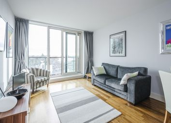 Thumbnail 1 bed flat to rent in South Wharf Road, London